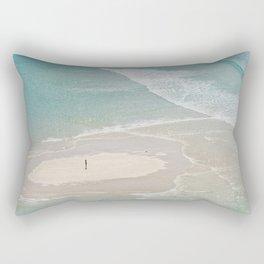 stranded in paradise Rectangular Pillow