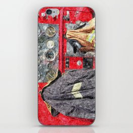 Fire Truck iPhone Skin