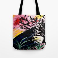 philosophy Tote Bags featuring Philosophy by Jessica Nicole Pacheco