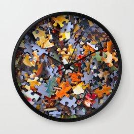 Puzzle Wall Clock