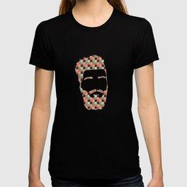 Hipster beard T-shirt
