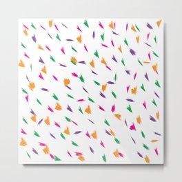 Joyful simple colour pattern Metal Print