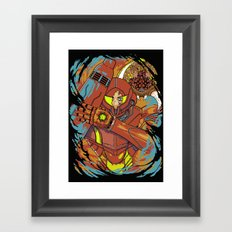 The Huntress. Framed Art Print