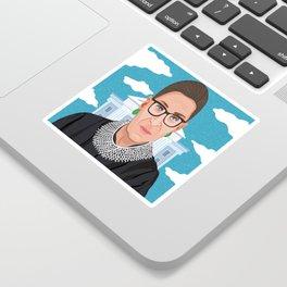 Ruth Bader Ginsburg Notorious RBG Sticker