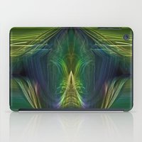 lantern iPad Cases featuring Lantern Flame by Avril Harris