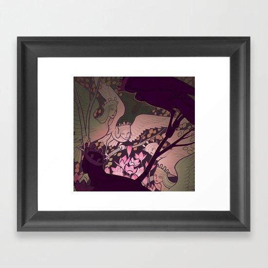 Sirin Framed Art Print