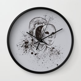 Mind Explosion Wall Clock