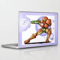 samus Laptop & iPad Skins featuring Samus by Jacob Naue