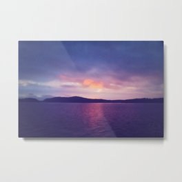 Candy-Colored Horizon Metal Print
