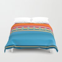 decorative Duvet Covers featuring Decorative by elledeegee
