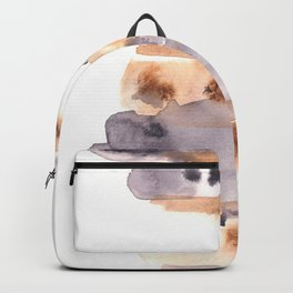 Soft Texture Watercolor | [Grief] Patches of Existence Backpack