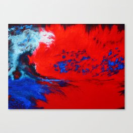 This is the way the world ends... Canvas Print