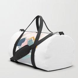 Minimalistic Landscape Duffle Bag