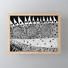 Cells by Yayoi kusam Framed Mini Art Print