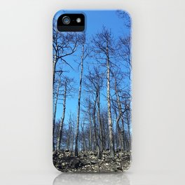 WHEN A FIRE ATTACKS iPhone Case