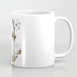 Cotton branches. Coffee Mug