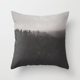 Fade Away Throw Pillow
