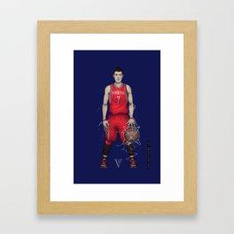 Linsane Framed Art Print