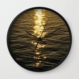 Dancing Light on Water Wall Clock