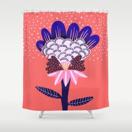 Fabuluscious Flower Shower Curtain