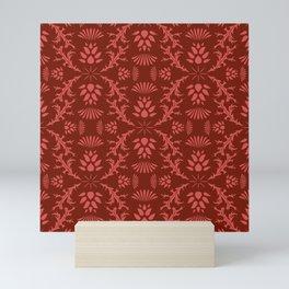 Thistles on Red Mini Art Print