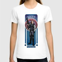 winter soldier T-shirts featuring Bucky the Winter soldier by Studio Kawaii