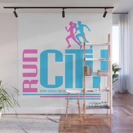 Run city Wall Mural