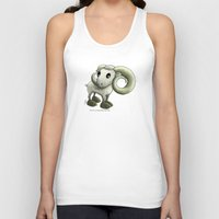 aries Tank Tops featuring Aries by Kitsune Arts