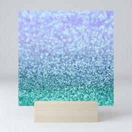 Winter Over Ocean  Mini Art Print