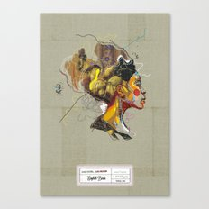 Erykah Badu - Soul Sister | Soul Brother Canvas Print