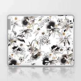 Whimsical flowers Laptop & iPad Skin