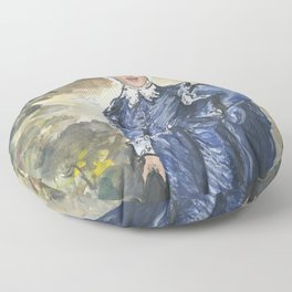 Stephen Miller, Blue Boy Floor Pillow