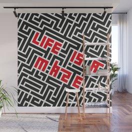 Maze Wall Mural