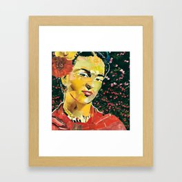 Kahlo or not Kahlo Framed Art Print