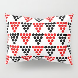 Abstraction from Cardium pottery 5-abstraction,abstract,cardial,cardium pottery Pillow Sham
