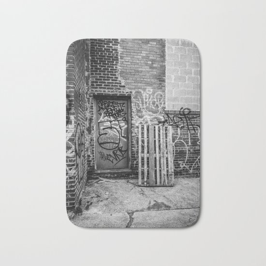Exit to the Streets Bath Mat