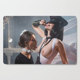 The Maid & the Domiant Cutting Board