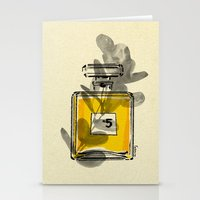 perfume Stationery Cards featuring Perfume by Magdalena Pankiewicz