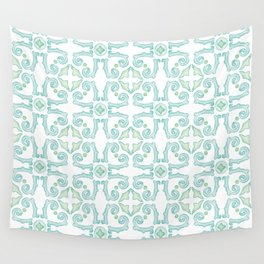 Moroccan Tile Pattern Wall Tapestry