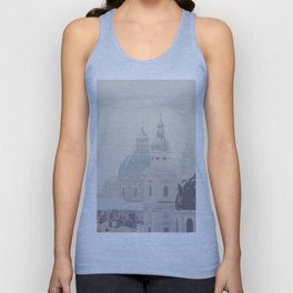 beneath the snow covered domes ... Unisex Tank Top