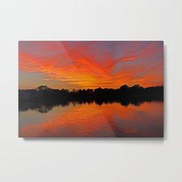 Lafayette River Sunset Metal Print