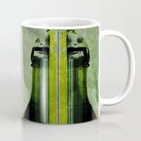 lichtenstein Mugs featuring BOT by lucborell