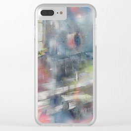 The day my father left Clear iPhone Case