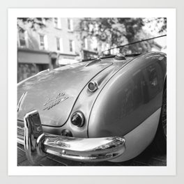 Austin Healey 3000 no 1 Art Print