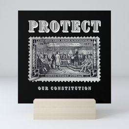 Protect Our Constitution Mini Art Print