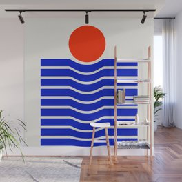 Going down-modern abstract Wall Mural