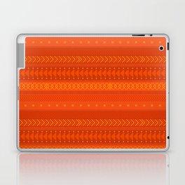 Lava - tribal geometrics Laptop & iPad Skin