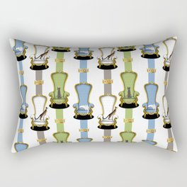Cats on Thrones Rectangular Pillow