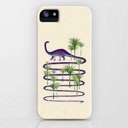 Dinosaur Walk iPhone Case