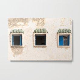 Three More Windows, Morocco Metal Print